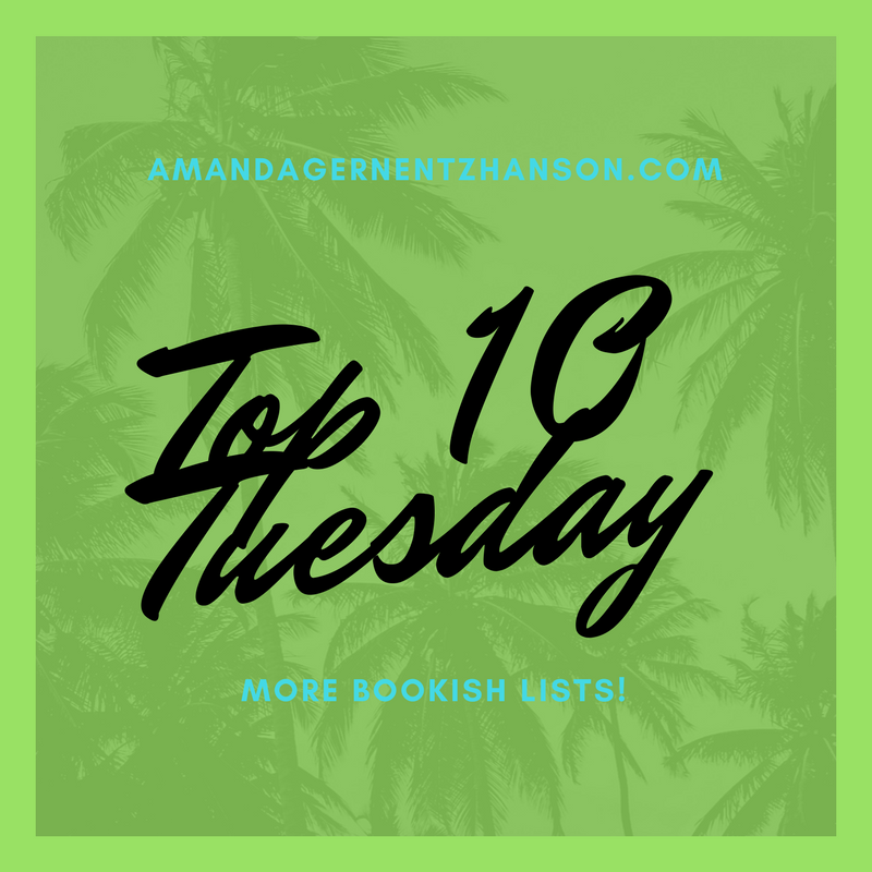 Top 10 Tuesday – Autumn Covers!