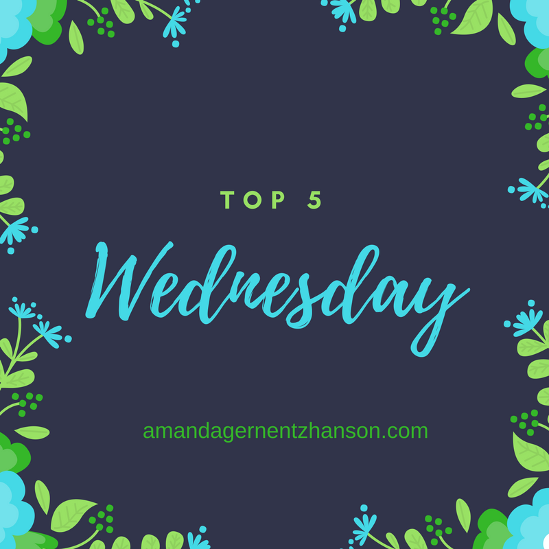 Top 5 Wednesday – Favorite Fancasts