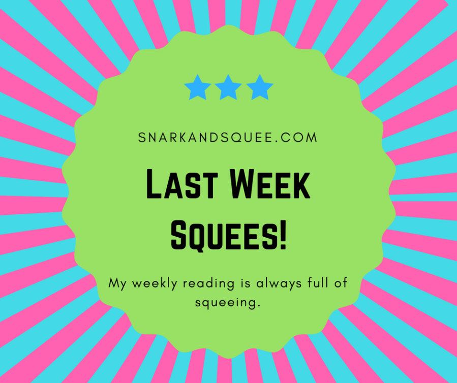 Last Week Squees + My Own #Marvel-a-Thon TBR